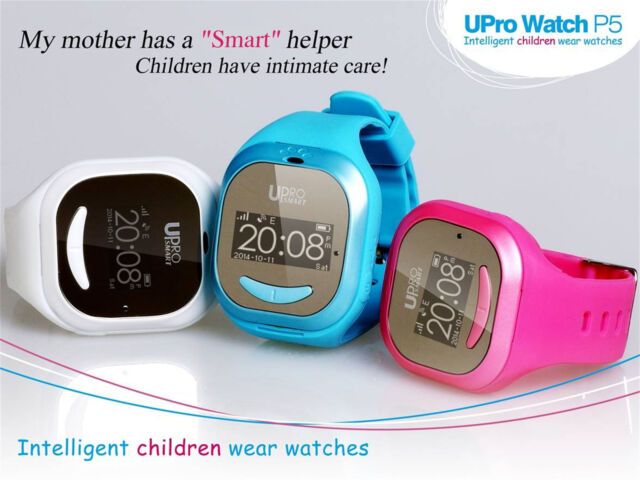 UPro P5 GPS WIFI Kids Smart Watch Outdoor Position Tracker for IOS Android Phone