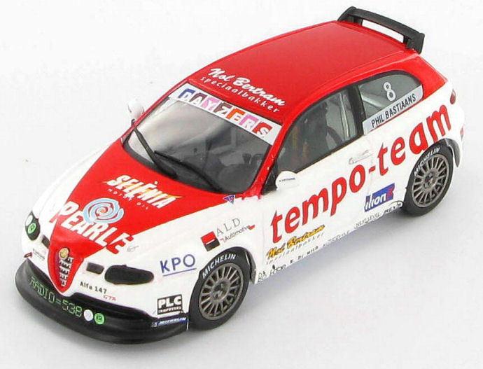 Alfa Romeo 147 GTA Phil BASTIAANS 2003 1 43 - S0482