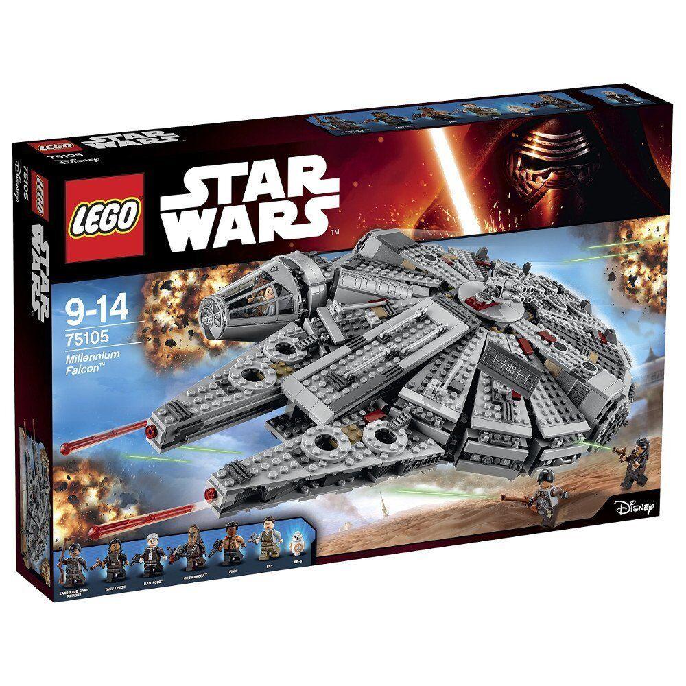 Lego ® ® ® 75105 Star Wars Millennium Falcon Neu OVP new sealed 113f9a