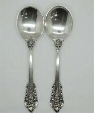 Wallace Sterling Silver Grande Baroque Round Bowl Cream Soup Spoon