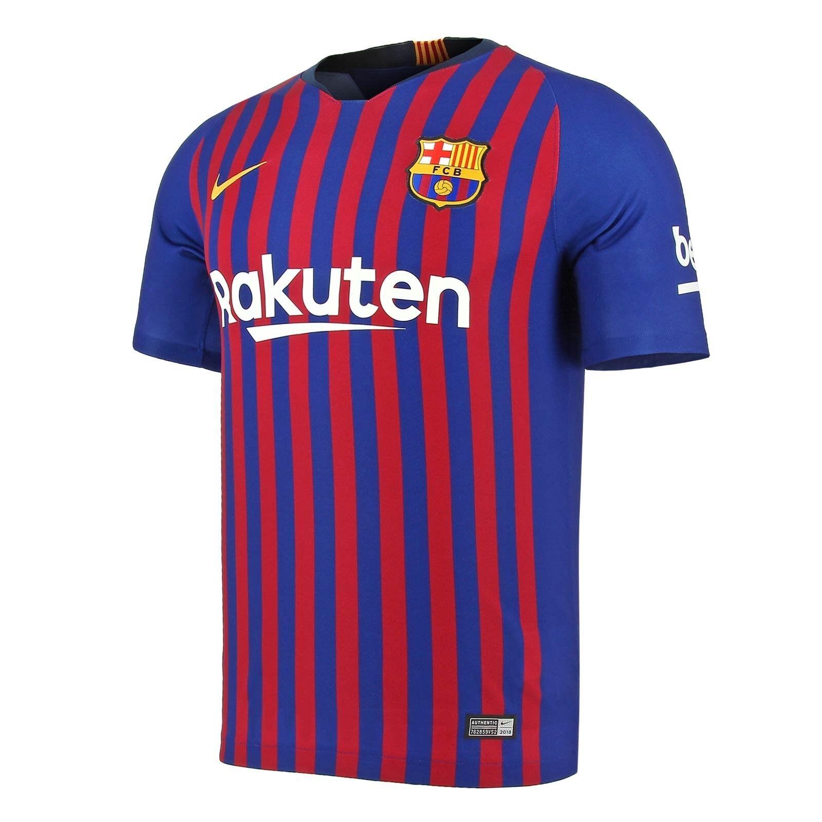 NIKE FC BARCELONA STARTSEITE STADIUM JSY ORIGINAL T-SHIRT BARCA 2018 19 894430  | Kaufen