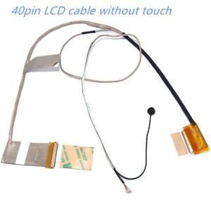 LCD-Screen-Display-Cable-amp-Mic-Microphone-for-Asus-Q500-Q500A-1422-0199000-40pin