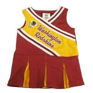 Image is loading New-NFL-Washington-Redskins-Toddler-Girls-Cheerleader-Dress - 4f741782f
