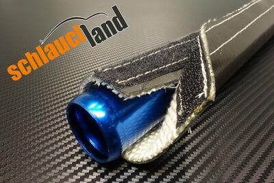 Hitzeschutzschlauch Silikon-Titan schwarz ID 30mm