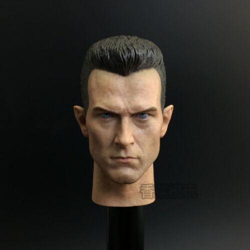 1//6 Terminator 2 The Judgement Day T1000 Head Sculpt Robert Patrick Headplay