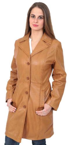 Cappotto uomo 4 Nuovo in Giacca da donna 3 chiaro pelle tartaruga in da classico pelle trench marrone color rarxqzBwH