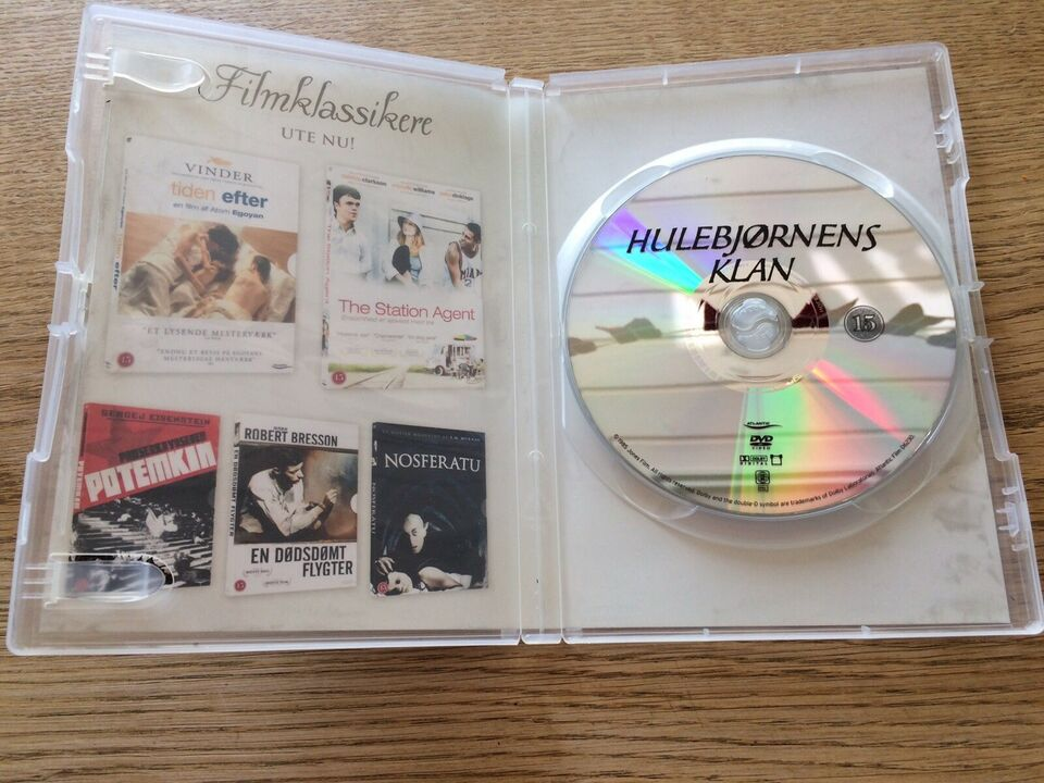Hulebjørnens Klan, DVD, drama