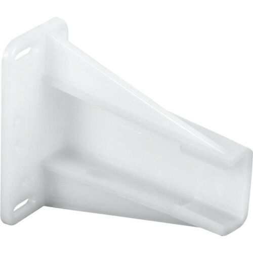 Prime-Line  2-3//4 in L Plastic  Drawer Slides Track Bracket  2 pk