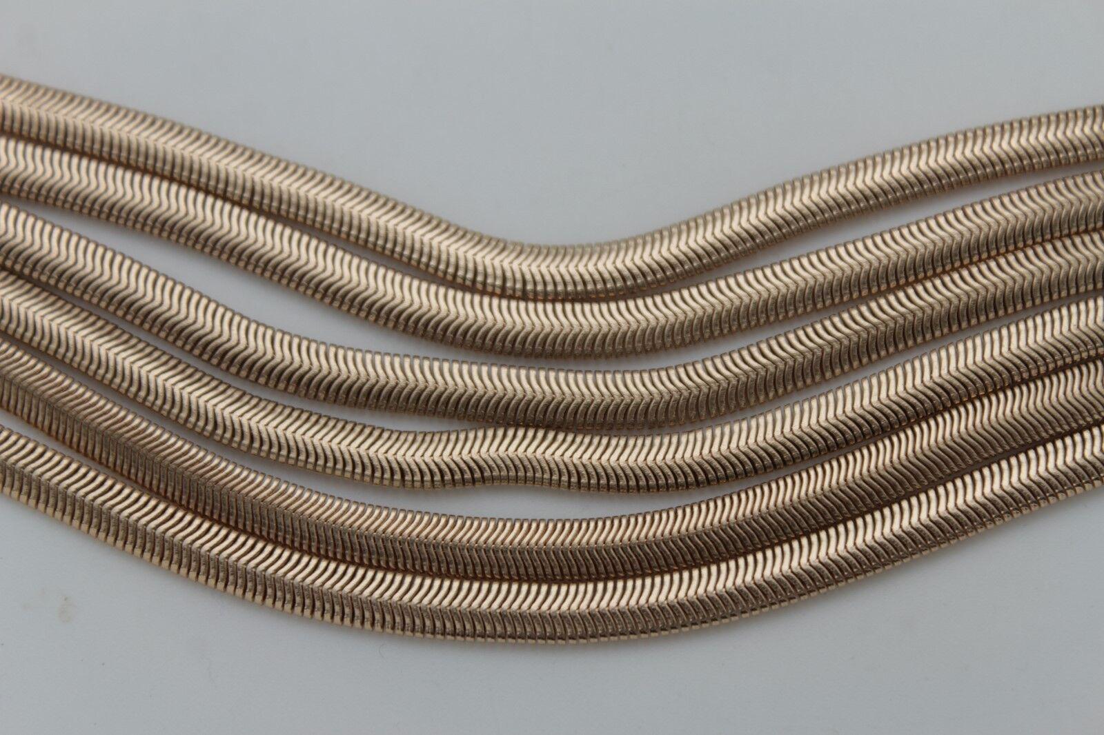 Women Western Fashion Boot Bracelet Gold Mesh Metal Chain 5 Strands Shoe Charm