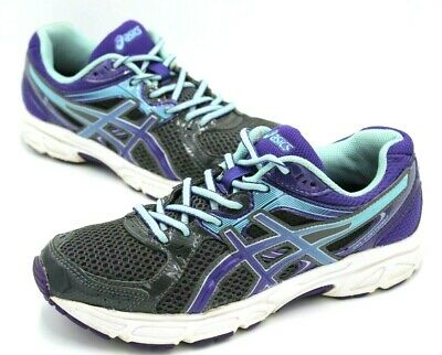 Asics Gel Contend 2 Running Shoes, Women Size 7.5, Purple Lace up Shoes T474N | eBay