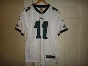 big sale 430d3 4f474 Details about Youth Nike Carson Wentz #11 Philadelphia Eagles NFL White  Game Jersey MSRP $75