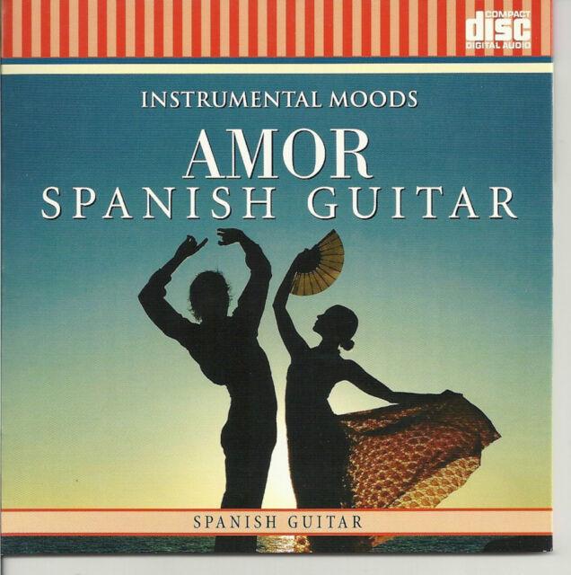 Instrumental Moods Amor Spanish Guitar 2010 CD Fbc7