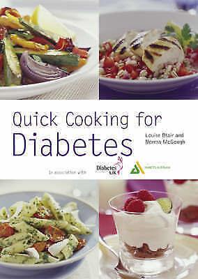 """AS NEW"" McGough, Norma,Blair, Louise, New Pyramid Quick Cooking for Diabetes (P"