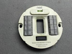 Image is loading Used-Wiring-Base-For-Nest-Learning-Thermostat-1st- : nest wiring - yogabreezes.com