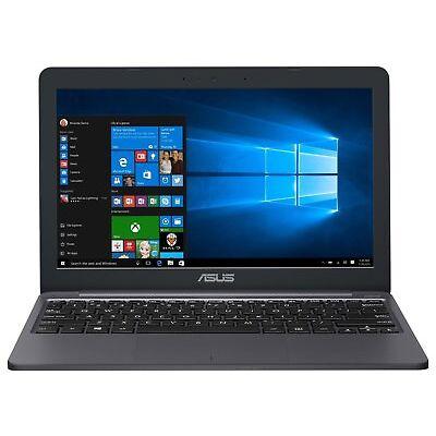 ASUS E203 11.6 Inch Celeron N4000 2.6 GHz 4GB 32GB eMMC Laptop - Grey