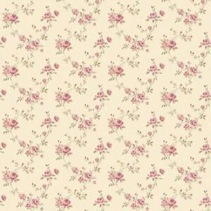 g67893-miniatures2-Blumen-Spur-gruen-rot-Galerie-Tapete