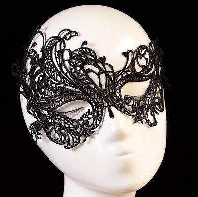 NEU sexy Gesichtsmaske Augenmaske Spitzen Maske Venezianische Party Karneval