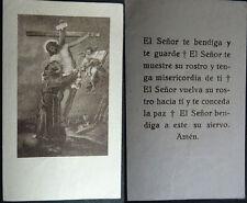 ESTAMPA HOLY CARD JESUCRISTO BAJANDO DE LA CRUZ    MIRA MI TIENDA DE EBAY CC1581