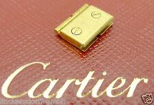 CARTIER SANTOS ELEMENT 10MM gerade, nicht gewölbt DAMEN 18CT GOLD 80er Jahre