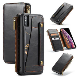 Caseme-Leather-Wallet-Case-Removable-Zipper-Holder-Cover-for-iPhone-X-XR-XS-Max