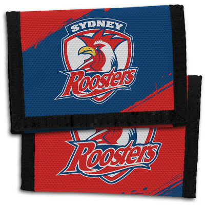 Sydney Roosters NRL Wallet Sports Christmas Boys Girls Birthday Fathers Gift