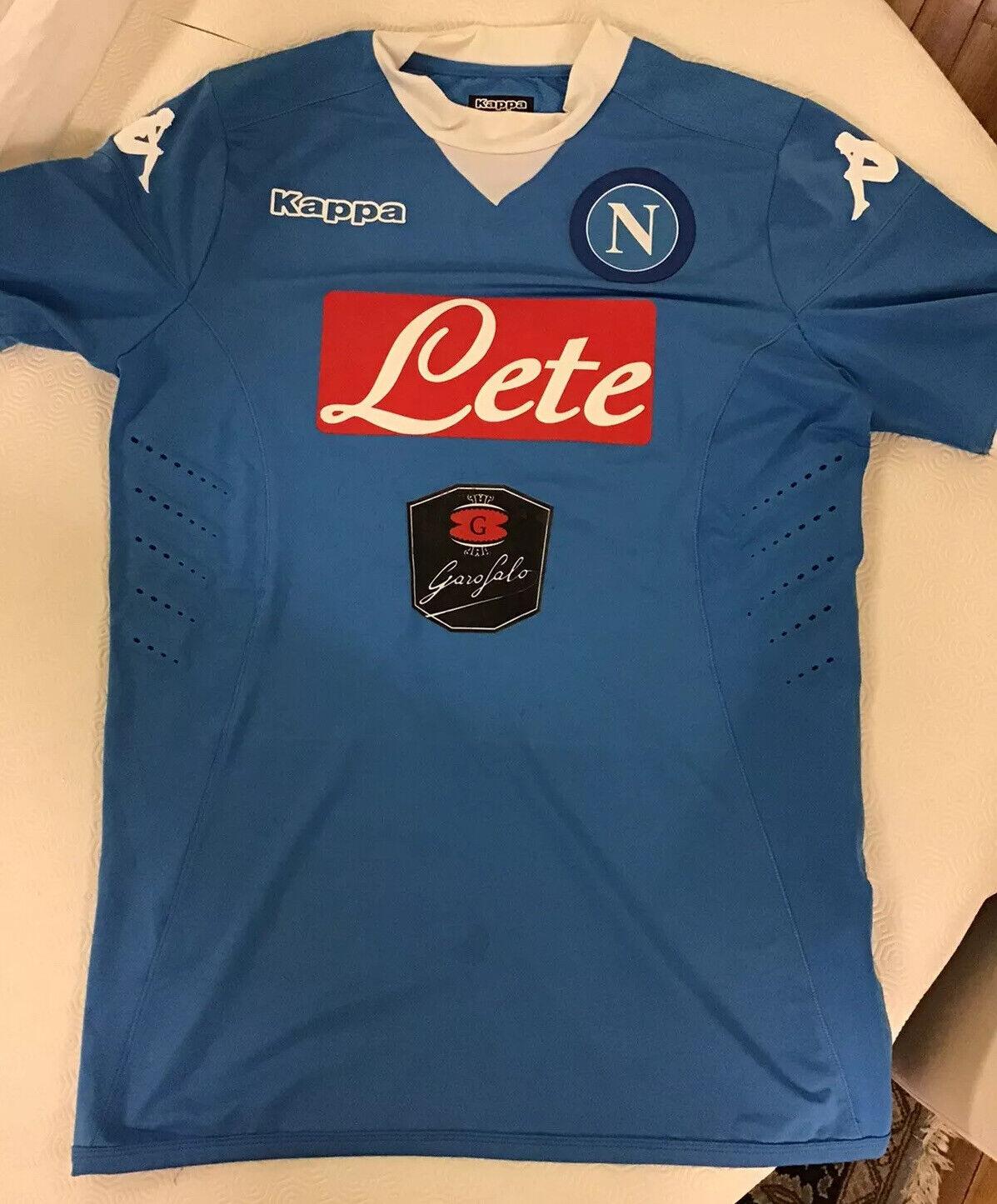 Maglia Ssc Napoli 20152016 Gonzalo Higuain Indossata e e e Autografata cad