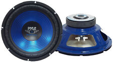 """Single 12"""" inch Blue 4 ohm Performance Car Home Audio Stereo Woofer Bass Speaker"""