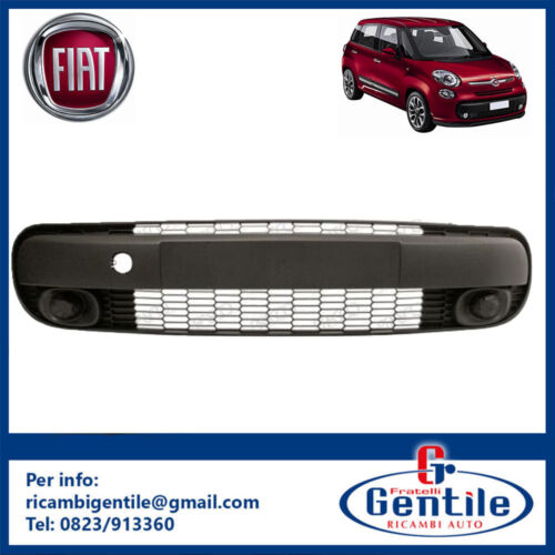 GRIGLIA VENTILAZIONE CENTRALE INFERIORE PARAURTI ANTERIORE FIAT 500 L DAL 2012