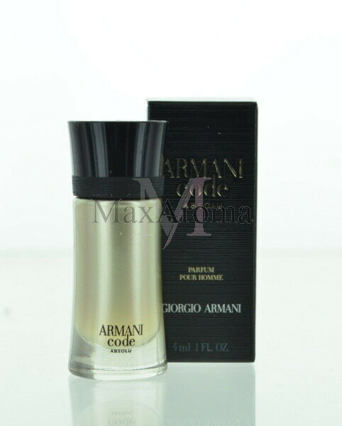 4 Ml Pour Code 1 Oz Giorgio Parfum Armani For 0 Men Homme Absolu PTXOkZui