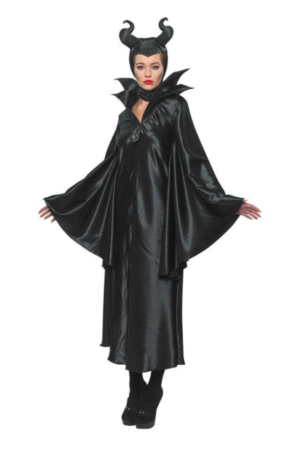 NEW MALEFICENT COSTUME Medium FAIRY WITCH VILLAIN HALLOWEEN FANCY DRESS PARTY