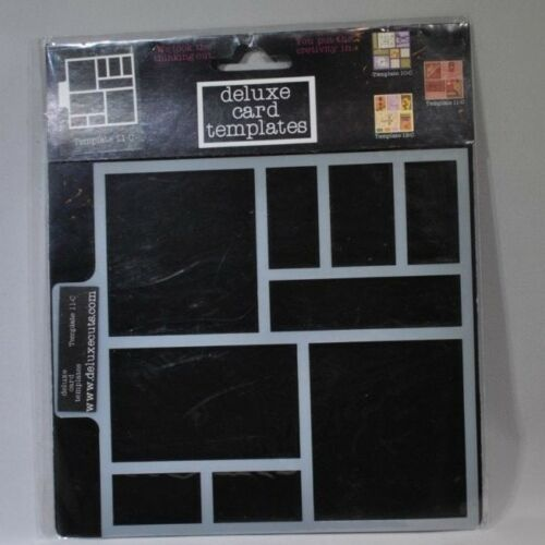 Deluxe Designs Laser Cuts Card Template Bookplate Scrapbooking