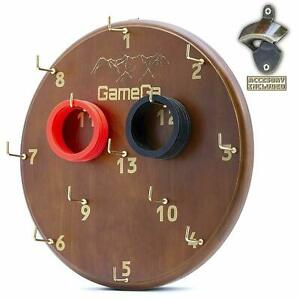 Gamega Hookey Ring Toss Game For Adults Kids Fun Engage Indoor Outdoor Game 304369625905 Ebay