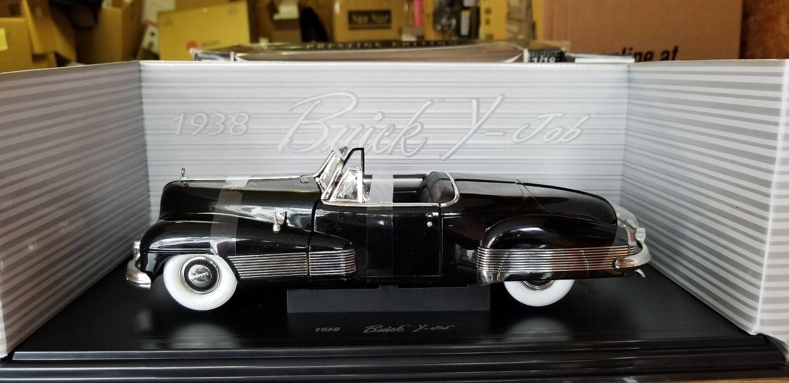 1 18 Anson 1938 Buick Y-Job nero