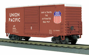 MTH-Rail-King-O-O-27-40-039-High-Cube-Boxcar-Union-Pacific-UP