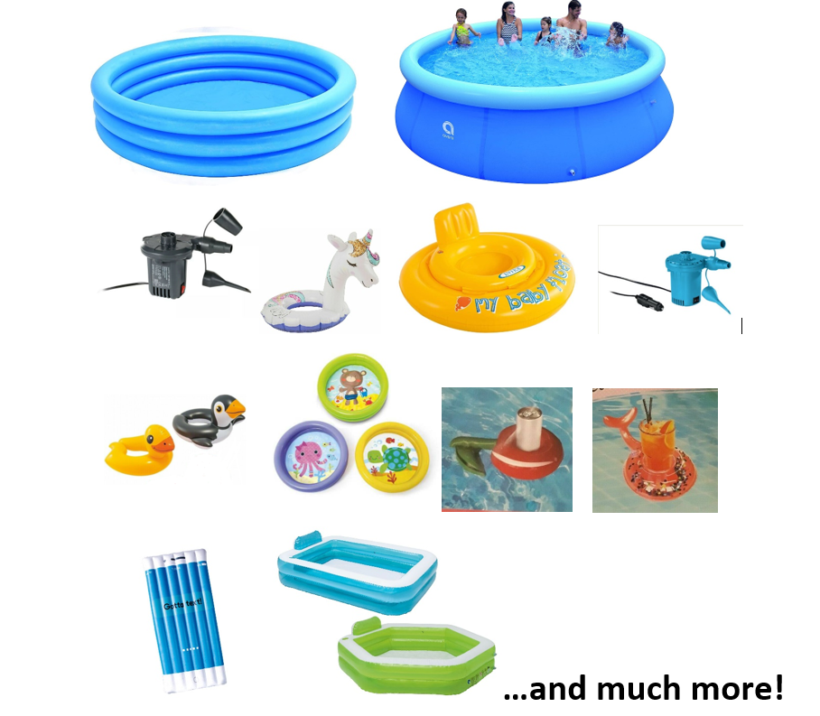 NEW! Pools, Pumps and Accessories...All you need for this summer! Fast dispatch!