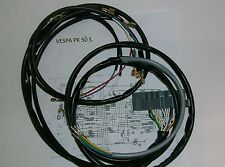 IMPIANTO ELETTRICO ELECTRICAL WIRING VESPA PK 50 S CON FRECCE+SCHEMA ELETTRICO