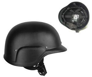 Army Combat Military Fast British Assault M88 US Swat Helmet Black Replica New