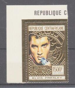 Zentralafrikanische-Republique-1479-Elvis-Presley-or-Marque-MNH