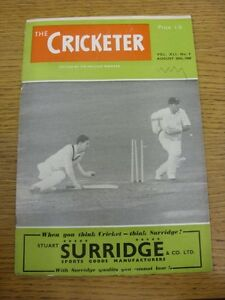 20081960 The Cricketer Magazine Edited By Sir Pelham Warner Creased WornNic - Birmingham, United Kingdom - 20081960 The Cricketer Magazine Edited By Sir Pelham Warner Creased WornNic - Birmingham, United Kingdom