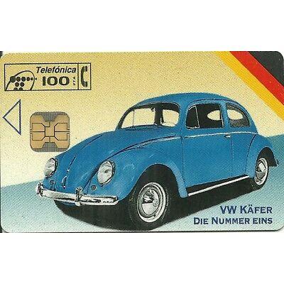 RARE / CARTE TELEPHONIQUE - COX VW COCCINELLE KAFER / VOLKSWAGEN / PHONECARD