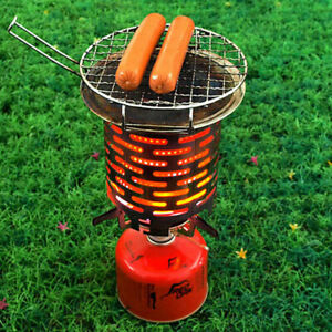 Stainless-Steel-Portable-Mini-Camping-Warmer-Heater-Cap-Outdoor-Gas-Stove-Cover