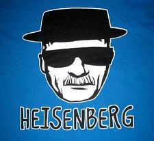 Breaking Bad, Heisenberg, Walter White in Hat Sketch Tee - Men's SMALL, Blue