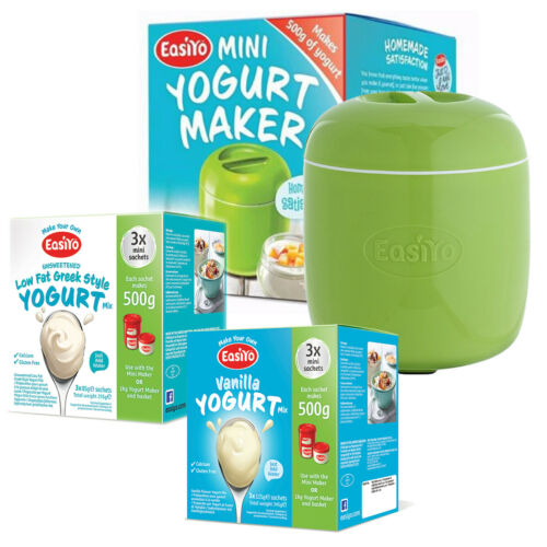 6 500g Boxes Plus 2 Mini Sachet - Apple Green Mini Yogurt Maker