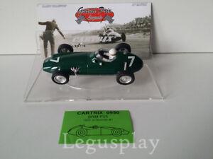 Slot Car Scx Scalextric Cartrix 0950 Brm P25 1959 Jo Bonnier # 7