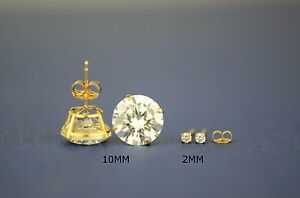 14k-Yellow-Gold-Round-CZ-Stud-Earrings-Basket-Setting-2-10mm-y