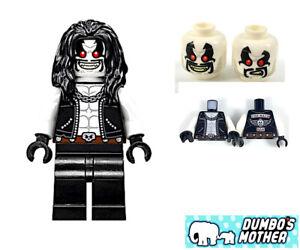 Lobo Lego Super Heroes Justice League DC comics Minifig sh490 NEW