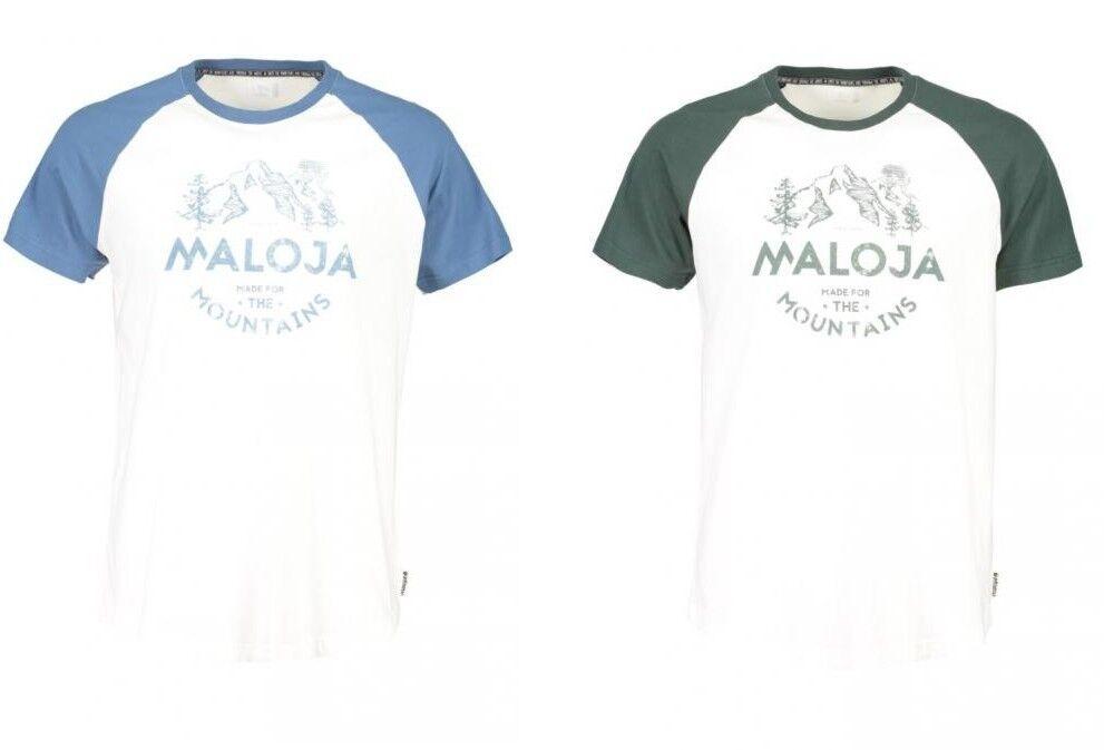 MALOJA T-Shirt   BeverM    NEU