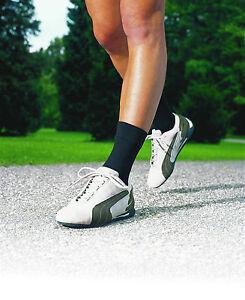 Compressana Aktiv Bandagensocke, schwarz, weiß, Schuhgrößen 36 - 46, NEU OVP