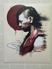 NEW WWE STAR SHINSUKE NAKAMURA SIGNED 11x14 ARTIST PHOTO SMACKDOWN LIVE JAPAN