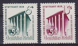 DR-Mi-Nr-692-693-Reichs-Gartenschau-Deutsches-Reich-1939-postfrisch-MNH
